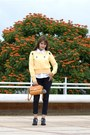 Black-forever-21-jeans-light-yellow-hada-de-sol-sweater-white-mango-blouse