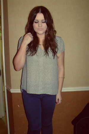 Dorothy Perkins bracelet - Topshop jeans - H&M necklace - H&M ring - H&M blouse