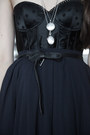 Black-passionata-top-navy-zara-skirt-black-vintage-belt