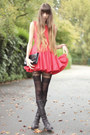 Black-jonathan-ashton-tights-red-tulle-jones-jones-dress