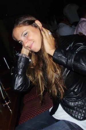 Zara jacket - Vero Moda top - Charlotte Russe jeans - Topshop bracelet - River I