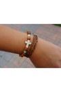 Turquoise-blue-leather-beaded-sarah-j-handmade-bracelet