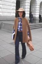 Maje shirt - Topshop jeans - Topshop hat