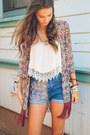 Navy-nectar-clothing-shorts-ivory-nectar-clothing-top