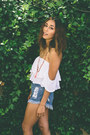 Navy-nectar-clothing-shorts-white-nectar-clothing-top