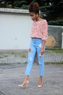 Sheinside-jeans-asos-sweater-missguided-heels