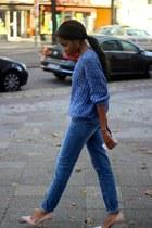 asoscom jeans - Sheinside sweater - Missguided heels