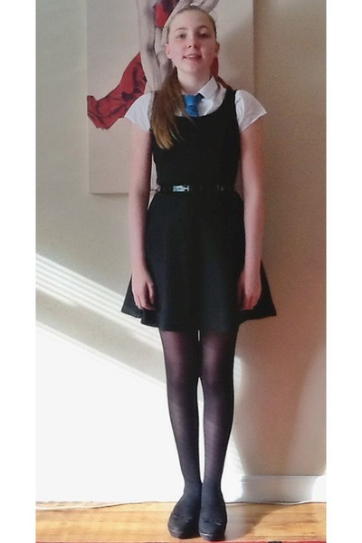 Black Black Silky Quiz Dresses White Girly Marks And Spencer Shirts