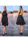 Black-zara-shoes-black-maria-martin-dress-black-bershka-bag