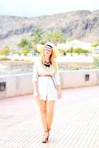 white optical h dior sunglasses - off white Choies dress