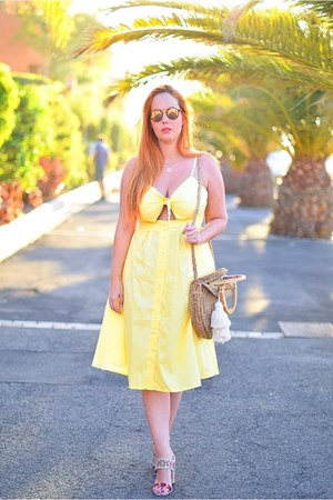 light yellow Novashe dress
