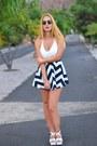 Black-ws-dear-romper-white-sammydress-heels-black-opticalh-dior-glasses