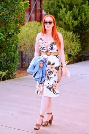 ivory Mango dress