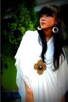 Forever21 earrings - NyLa dress
