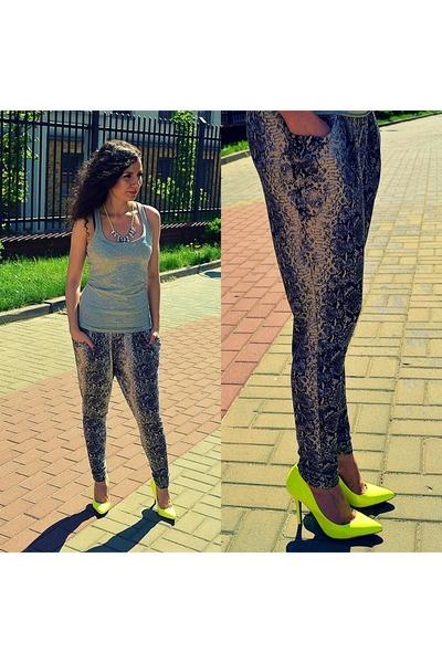 Terranova pants - Centro heels