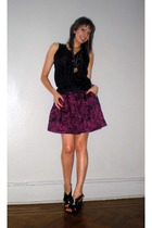 Old Navy blouse - forever 21 skirt - Miss Sixty shoes