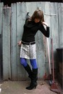 Black-h-m-sweater-white-h-m-skirt-blue-hue-tights-black-gift-accessories-