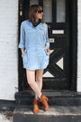 Blue-topshop-dress-brown-steve-madden-boots-black-kensie-sunglasses-blue-h