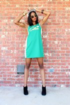 vintage bracelet - Vintage Celtics dress - Vintage NBA hat