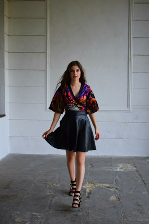 Dolce & Gabbana skirt - Chanel blouse