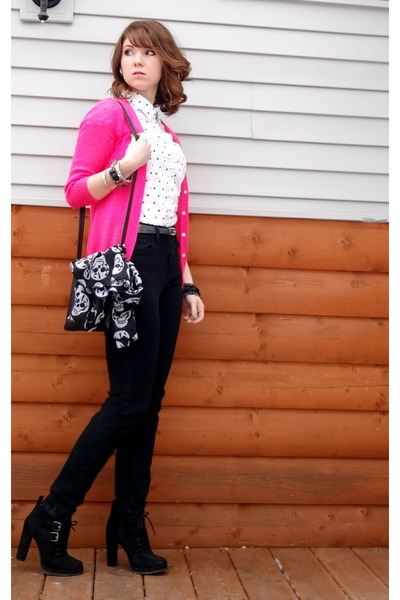 Hot Pink Old Navy Cardigan