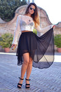 Black-firmoo-sunglasses-black-glamorous-skirt-black-dino-direct-wedges