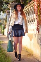 Sheinside skirt - Glamorous blouse