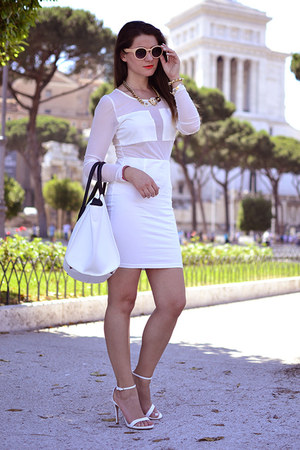 AX Paris dress - PERSUNMALL bag - zalando sunglasses
