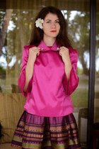 Sheinside skirt - Sheinside blouse