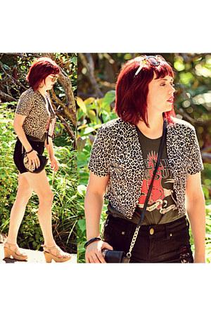 black cross body bag asos bag - black black denim redherring shorts