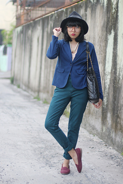 maroon maroon Connexion loafers - dark green American Jeans jeans