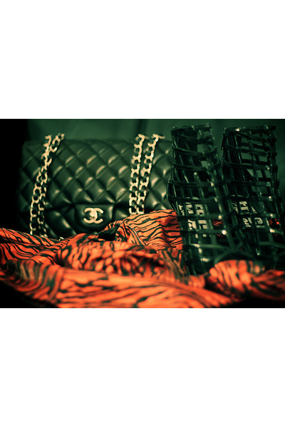 black Chanel accessories - black Chanel shoes