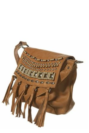 brown Topshop purse
