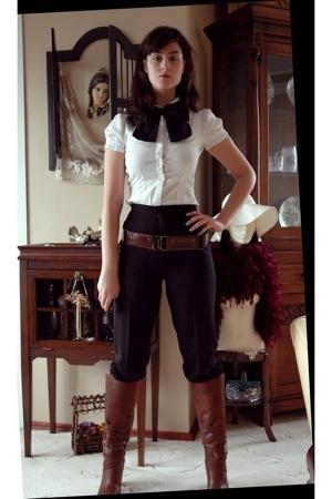 pants - Mango shirt - boots