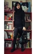 Mango pants - Mango accessories - Nursace boots