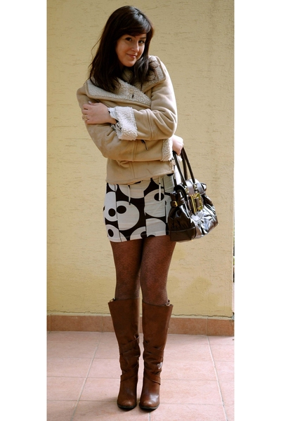 boots - Accessorize tights - Mudo accessories - Zara jacket