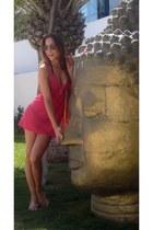 hot pink Stefanel dress