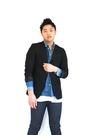 Black-h-m-blazer-blue-acne-shirt-blue-april-77-jeans