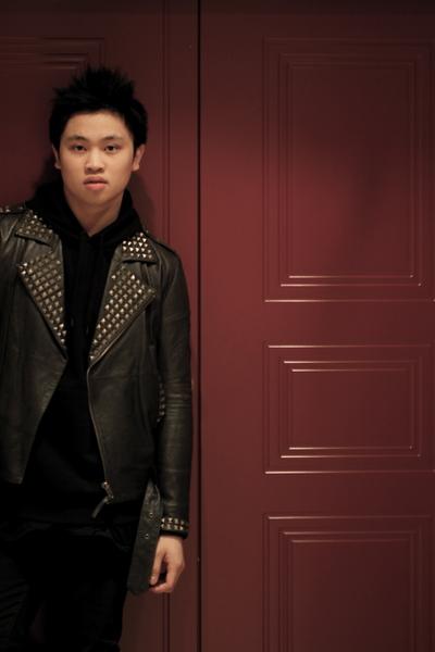 black H&M sweater - gray H&M jacket - black Cheap Monday jeans