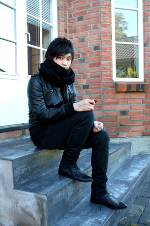 H&M jacket - H&M scarf - Cheap Monday jeans - asos shoes
