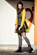black n-1 couture skirt - black Ebarrito boots - black Ebarrito bag