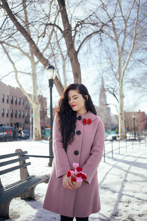 bubble gum Boden coat