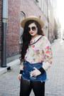 Leather-miista-boots-bubble-gum-floral-alices-pig-shirt