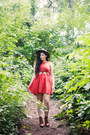 Red-orange-red-samantha-pleet-x-urban-outfitters-dress