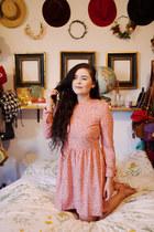 bubble gum spotted PepaLoves dress
