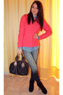 Pull-bear-sweater-tally-weijl-shoes-zara-jeans-pull-bear-shirt