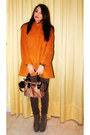 Light-brown-jeffrey-campbell-shoes-light-orange-zara-coat-brown-zara-sweater