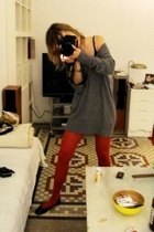 Rouge tights