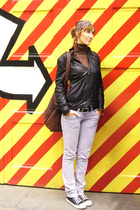 G-Sus jacket - Zara sweater - Zara jeans - pieces purse - HyM belt - AllStar sho
