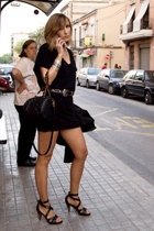 Mango dress - Pepe Jeans belt - Paco Herrero shoes